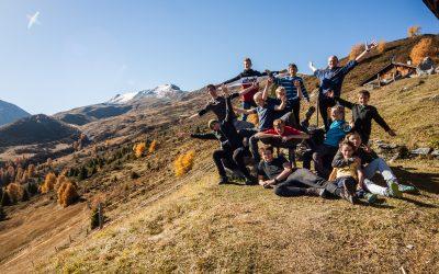 Auf der Alp Stierva, Herbslager 2017