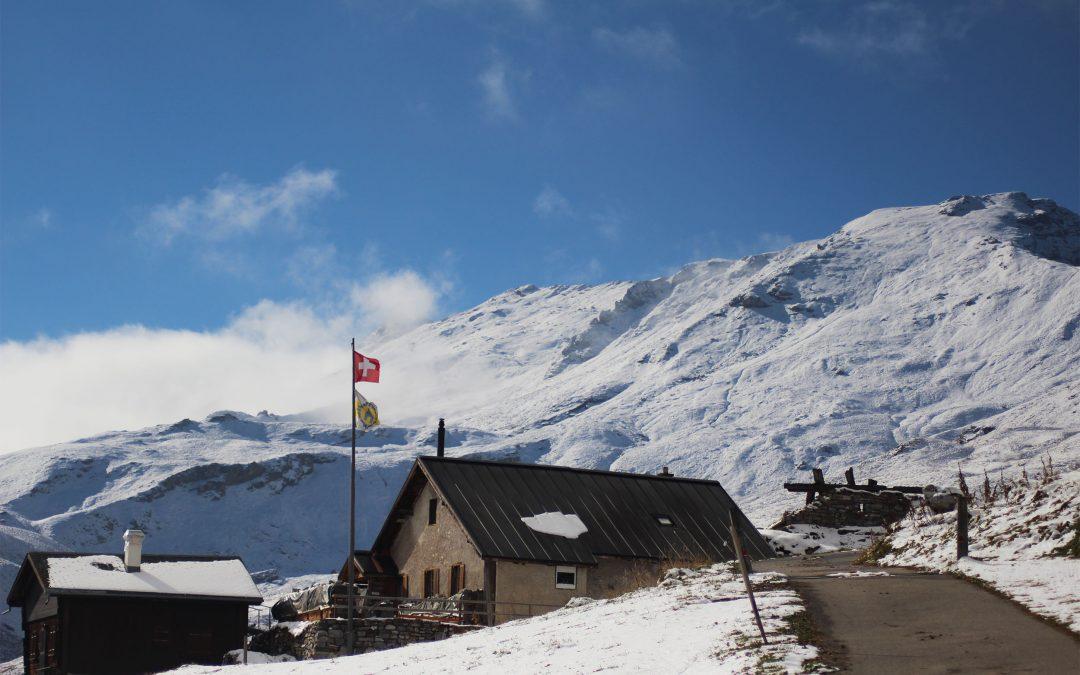 Im Schnee: Bericht Herbstlager 2016